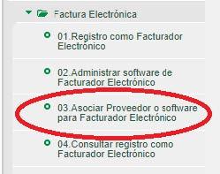 Como registrarse como facturador electronico - Paso 2