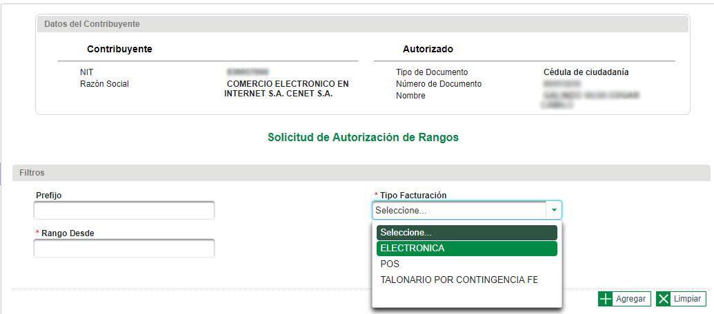 Como registrarse como facturador electronico - Paso 4